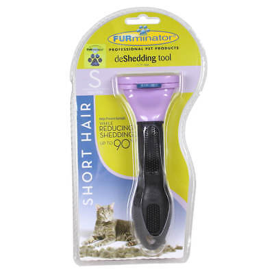 FURMINATOR  SMALL CATS SHORT HAIR 10 lbs or less DESHEDDING TOOL. New, Sealed