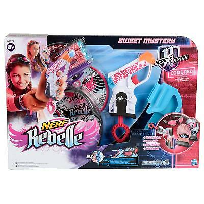 Nerf Rebelle Sweet Mystery Secrets & Spices Code Red Collection Toy Gun, BNIB