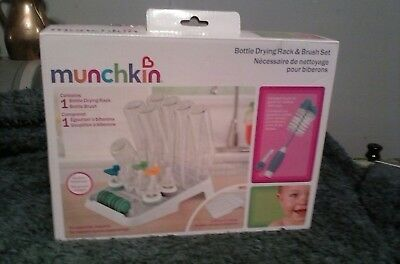 Munchkin  Baby Bottle Drying Rack  ( BRAND NEW! )