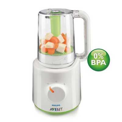 PHILIPS AVENT SCF870/22 Healthy Baby Food Maker Steamer Cooker wasabi