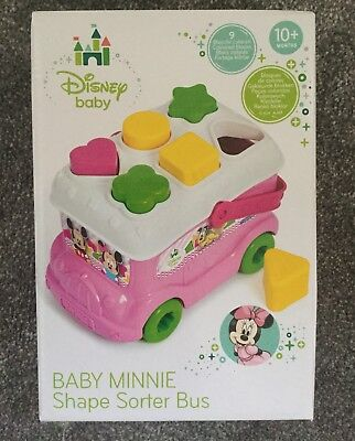 Brand New In Box Disney Minnie Mouse Shape Sorter