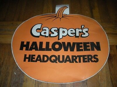 "Vintage CASPER the GHOST HI-C Drink Store Display Halloween Rare  19"" x 20"""