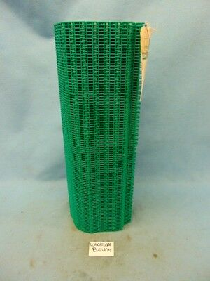 "Habasit Conveyor Belt Series 208, Flush Grid 1"" Pitch, 24"" X 10' 35% Open Acetal"