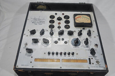 HICKOK 533 tube tester, ratty condition but working