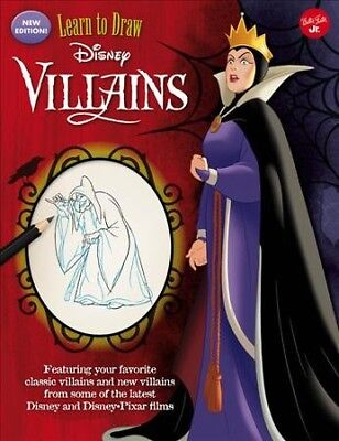 Learn to Draw Disney Villains, Paperback by Walter Foster (COR), ISBN 1633226...