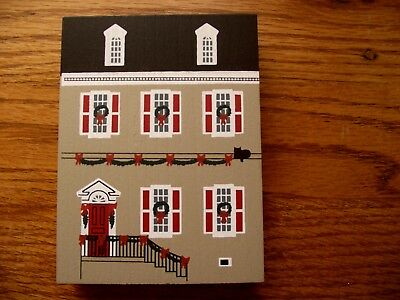 Cats Meow 1990 Colonial Virginia Christmas series DULANY HOUSE