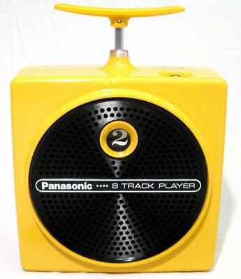 Panasonic RQ830S Dynamite TNT Plunger 8 Track Player. (FULLY SERVICED+NEW BELT)
