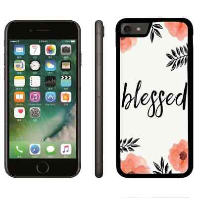 Phone Case Cover Christ Bible Verse Flower For iPhone 6 6s 7 8 plus X Xr Xs max