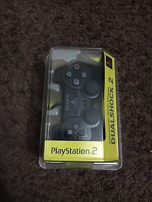 SONY PlayStation 2 PS2 Black SCPH-10010 SEALED NEW NIB DualShock 2 Controller