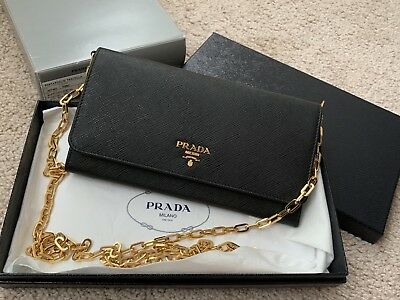 7712b1297882 NEW AUTH PRADA Saffiano Ruby Red Leather Cosmetic Case Bag Travel ...