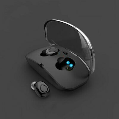 Mini True Wireless Bluetooth Earbuds Headset Earphone Headphones w/Charging Case