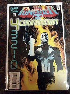 Punisher #103 (1987 Series) *Low Print Run* (1995) Marvel Comics RARE