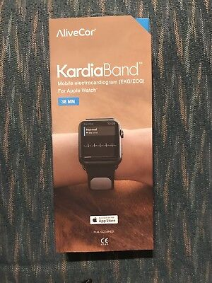 Alivecor KardiaBand EKG Monitor Apple Watch Band FDA Cleared 38mm