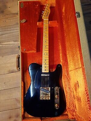 2004 Fender Telecaster 52 Vintage Only 100 Made Limited Edition Black Gold 1952