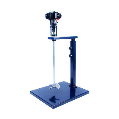 New Gallon Pneumatic Paint Mixer Tool w/Stand Blender Stirrer Ink Mixing Machine