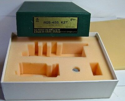BOX Only with Foam VG Shape D&RGW & RGS K-27 SKI S Scale