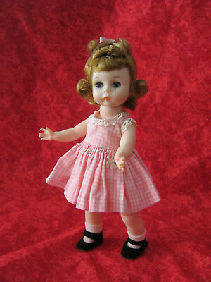 """Madame Alexander /""""PINK BUTTON/"""" Doll # 26690 8/"""" New in Box"""
