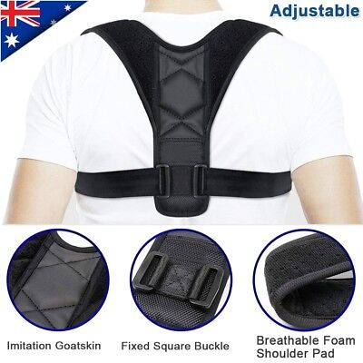 2019 BodyWellness Posture Corrector Adjustable Shoulder Back Support Brace Strap