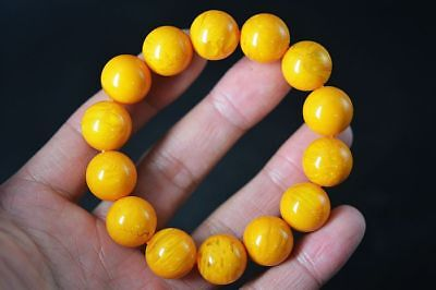 Large bracelet Exquisite Tibetan Beeswax Beads Prayer Bracelet      G73