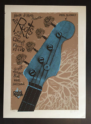 The Roots Los Angeles Poster Tara McPherson 2003
