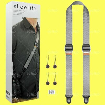 Peak Design Slide Lite Sling Strap for Mirrorless Camera SLL-AS-3 Ash 2018 New