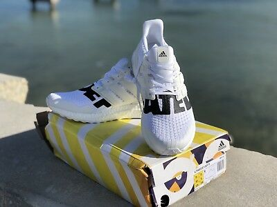 842a33798 ADIDAS ULTRA BOOST UNDFTD UNDEFEATED 4.0 WHITE BB9102 size 9.5US ...