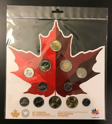 2017 Canada 150th Anniversary 12 Coins Collection Set