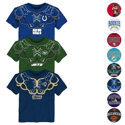 NFL Licensed Outerstuff Various Team Graphic T-Shirt Collection Toddler (2T-4T)