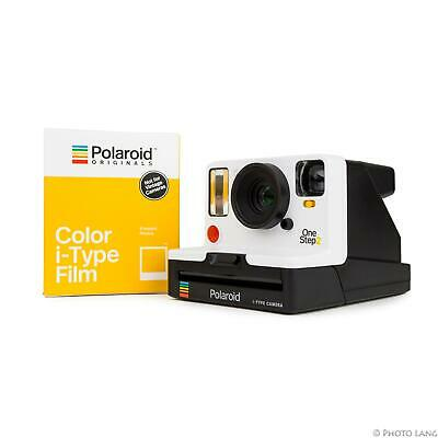 Polaroid Onestep 2 VF Camera White Viewfinder Instant Camera Incl 1 Film