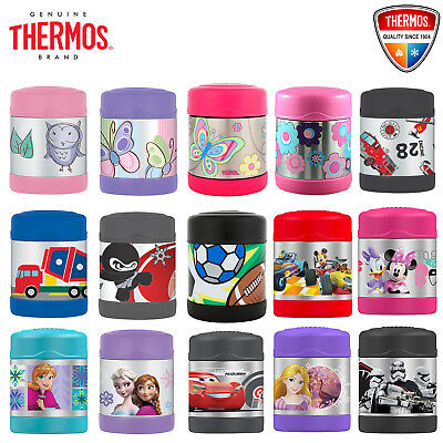 New THERMOS Funtainer Kid Stainless Vacuum Insulated Food Jar Container 290ml