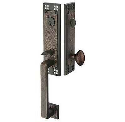 Emtek 4811 Oil Rubbed Bronze Handleset Emtek 4811