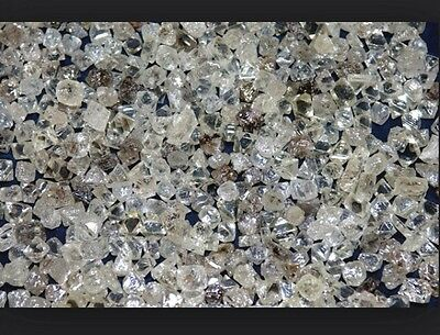 Natural Uncut Mixed Premium Grade Rough Diamond Lot (50 Loose) 1/2 CT.   L39