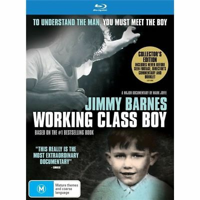 Jimmy Barnes Working Class Boy Collectors Edition Blu-ray NEW & SEALED