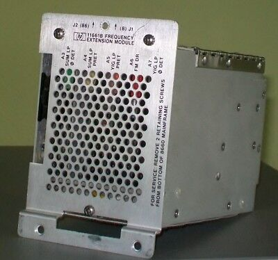 AGILENT HEWLETT PACKARD HP 11661B FREQUENCY EXTENSION MODULE for 8660 generator