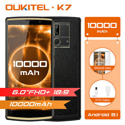 Oukitel K7 6 inch 4G Smartphone Handy Android 8.1 OctaCore 4+64GB ohne Vertrag