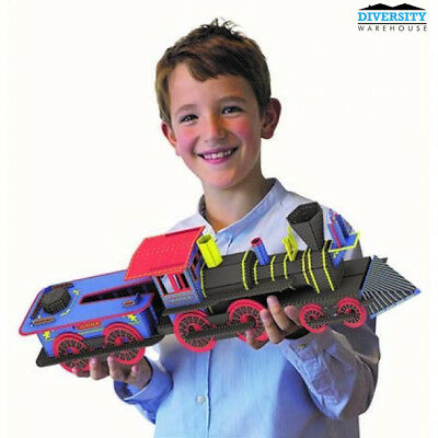 SASSI Travel, Learn and Explore - Build a 3D Locomotive