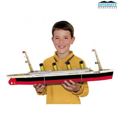 SASSI Travel, Learn and Explore - Build a 3D Boat - Titanic