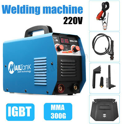 300 AMP Inverter Welding Machine Stick Welder DC With LCD IGBTWelder Soldering