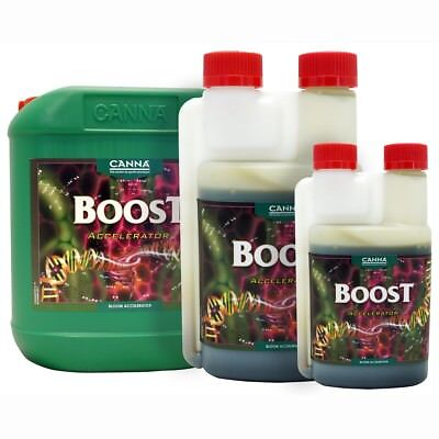 CANNA BOOST DECANTED IN CLEAR BOTTLE/5LTR/HYDROPONICS!2 pac