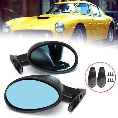 Pair Of American Classic Longbase Door Wing Mirrors Hot Rod Kit Car Ford Etc