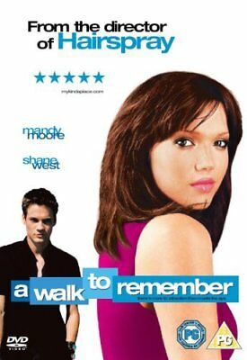 A Walk To Remember -Shane West, Mandy Moore BRAND NEW AND SEALED UK REGION 2 DVD