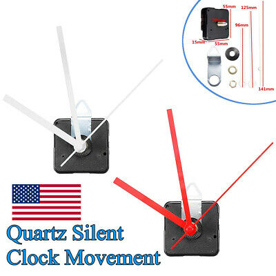 20mm Long Shaft Quartz Silent Clock Movement Mechanism Module Repair Tools Kit