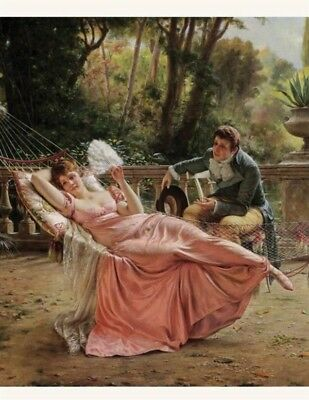Victorian Trading Co The Proposal Unframed Print by Charles Soulacroix