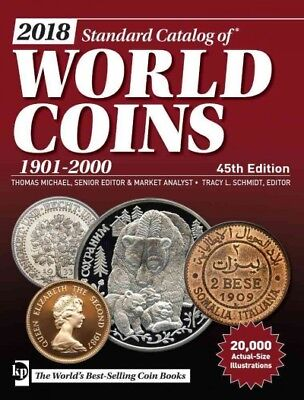 Standard Catalog of World Coins 2018 : 1901-2000, Paperback by Michael, Thoma...