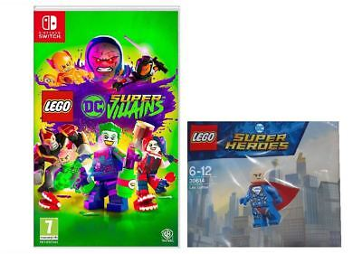 LEGO DC Super-Villains Mini Figure Edition Nintendo Switch New and Sealed