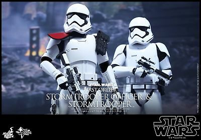 Clearance! Hot Toys 1/6 Star Wars MMS335 First Order Stormtrooper Officer Set