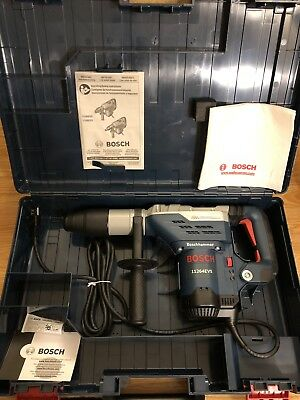"""New Bosch 11264Evs Rotary Electric Hammer Drill Kit 1 5/8"""" Sds Max"""