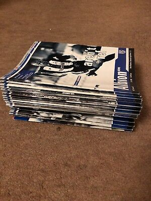 365 WBA West Brom Match Day Programmes. 1997-11 See List of progs in description