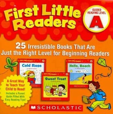 First Little Readers Guided Reading Level A : 25 Irresistible Books That Are ...