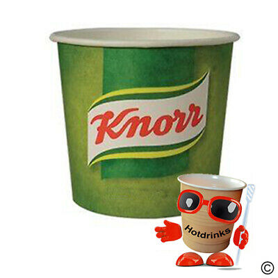 Knorr Vegetable Soup In Cup Drinks, 76mm, For Vending [1 Sleeve of 25 Cups]